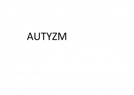 Praca z dzieckiem autystycznym
