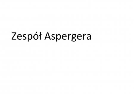 Uczeń z zespołem Aspergera w klasach starszych